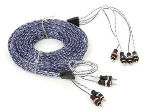 MTX ZN5460 StreetWires 4-Channel Interconnect Cable (6 Meters)