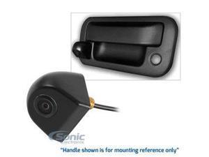 Car Show by Rosen DP10961 Universal Waterproof Tailgate Handle Rear-View Backup Camera