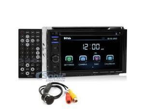 "BOSS Audio BVB9364RC In-Dash Double-DIN 6.2"" Touchscreen Monitor Bluetooth DVD Player"