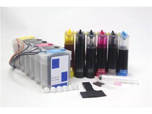 [Continuous Ink Supply System] for HP 72 HP72 Designjet T610 T620 T790 T770 T1100 T1100ps T1100 T1120 T1120 SD T1120ps T1200 T1300 T2300 CISS CIS Cartridges Cartridge
