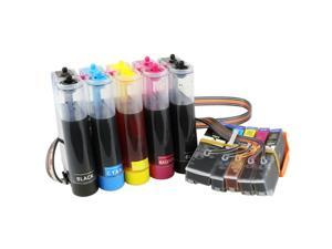 Continuous Ink Supply System for Epson Expression XP-610 XP-810 Printers CISS CIS