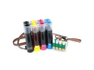 Cisinks ® Continuous Ink Supply System for Epson Workforce WF-3620 WF-3640 WF-7110 WF-7610 WF-7620 Printers - T252 CISS CIS