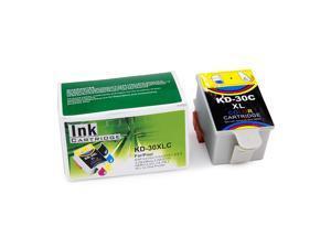 CISinks® Color Remanufactured Cartridge for Kodak 30XL HERO 2.2/ 3.1/ 4.2/ 5.1 ESP 1.2/ 3.2/ 3.2s/ C110/ C310/ C315 ESP Office 2150/ 2170