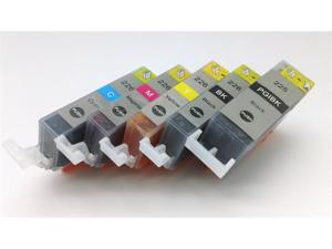 5 Pack Compatible Ink Cartridge SET for Canon PGI-225 CLI-226 PGI225 CLI226 Cartridge Pixma MG5120 MG5200 MG5220 MG5220 RFB MG5320 iX6520 MX882 MX892 IP4920 IP4820 Cartridges