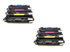 Cisinks ® 8PK NEW TN-210 TN210BK TN210C TN210M TN210Y Toner Cartridges for Brother DCP-9010CN, HL-3040CN, HL-3070CW, MFC-9010CN, MFC-9120CN, MFC-9320CN, MFC-9320CW