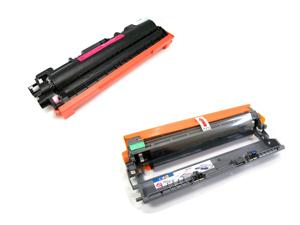 Cisinks ® 2 Pack Compatible Toner Cartridge and Drum unit ( 1 TN210C, 1 DR210C ) TN-210C DR210CL DR-210C For Brother DCP-9010CN HL-3040CN HL-3070CW MFC-9010CN MFC-9120CN MFC-9320CN
