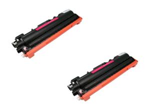 Cisinks ® 2 Pack Magenta Compatible Toner Cartridge for the Brother TN210 TN210M TN210 (TN-210) HL-3040, DCP-9010CN, HL-3040CN, HL-3070CW, MFC-9010CN, MFC-9120CN, MFC-9320CN, MFC-9320CW