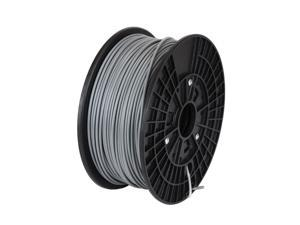WyzWorks® 3D Printer Filament: PLA 1.75 MM Grey 2.2 lbs Makerbot Reprap Mendel UP FlashForge CHOOSE COLOR – GREY