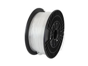 WyzWorks® 3D Printer Filament: ABS 3.0 MM Natural 2.2 lbs Makerbot Reprap Mendel UP FlashForge CHOOSE COLOR – NATURAL