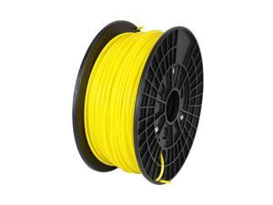 WyzWorks® 3D Printer Filament 3mm ABS Yellow 1kg/2.2lb RepRap MarkerBot