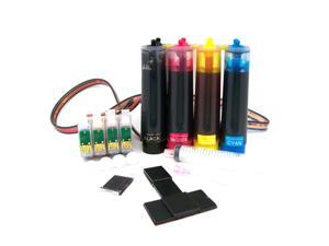 Cisinks ® Continuous Ink Supply System for Epson Workforce WF 40 600 610 615 Stylus NX510 NX515 Printers CISS CIS