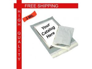 """(1000) 9"""" W x 12"""" L,  Clear View Poly Mailers Self Sealing Envelopes Bag 3.0 Mil 1000 /Case"""