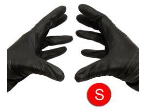 Black Nitrile Powder Free Industrial Gloves Disposable 3.5 mil Small 4000 pcs = 4 Cases