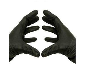 Black Nitrile Powder Free Industrial Gloves Disposable 3.5 mil Medium 4000 pcs = 4 Cases