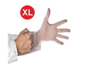 Medical Exam Gloves Vinyl Powder Free 5 mil X-Large Disposable 6000 pcs = 6 Cases