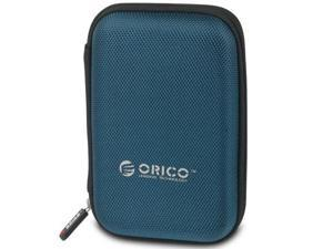 ORICO 2.5 inch Portable External Hard Drive Protection Bag Dual Buffer Layer HDD Protector Case - Blue(PHD-25)