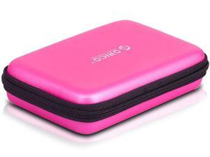 ORICO PHB-25 Portable 2.5-Inch External Hard Drive Protect Bag Carrying Case - Pink