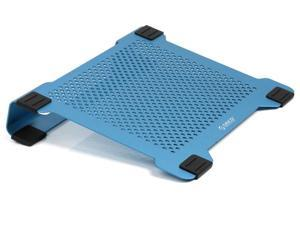 ORICO Aluminum Laptop Notebook Cooling Pad with two Adjustable 80 MM Whisper-Quiet Fans - Blue (NCA-1513)