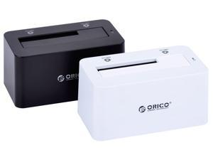 ORICO 6619US3 Super Speed USB 3.0 to 2.5 - inch or 3.5 - inch SATA External Hard Drive HDD Docking station with 12V / 2.5A ...