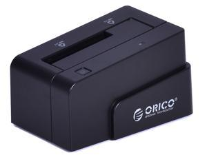 ORICO 6618SUS-BK USB 2.0 + e-SATA Tool Free SATA Hard Drive Docking Station - 2.5 Inches / 3.5 Inches, Support 3TB