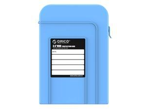 ORICO PHI-35 3.5-Inch HDD Protector Professional Premium Anti-Static Hard Drive Protection Box - Blue