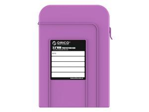 ORICO PHI-35 3.5-Innch HDD Protector Professional Premium Anti-Static Hard Drive Protection Box - Purple