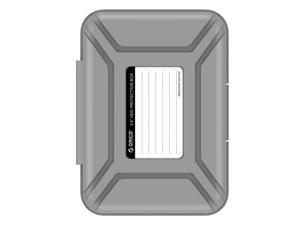 "ORICO PHX-35 3.5-Inch HDD Protector, Ultimate Villa For 3.5"" Hard Disk Drive , 3.5 Inch Protective Box/Storage Case - Gray"