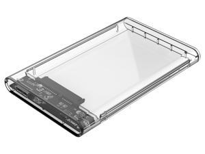 """ORICO 2.5 inch Transparent External Hard Drive Disk Enclosure Box USB 3.0 High-Speed Case for 2.5"""" HDD SSD Case Support ..."""