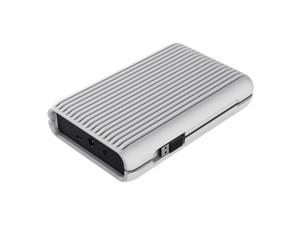 "ORICO USB3.1 Gen2 TYPE-C 3.5"" 3TB 10Gbps High-Speed Shockproof Portable External Hard Disk Drive SATA III 6Gb/s Hard Disk HDD with Silicone Protective Case HDD Desktop Mobile (MS3530)-Gray"