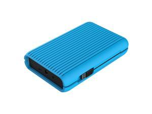 "ORICO USB3.1 Gen2 TYPE-C 3.5"" 3TB 10Gbps High-Speed Shockproof Portable External Hard Disk Drive SATA III 6Gb/s Hard Disk HDD with Silicone Protective Case HDD Desktop Mobile (MS3530)-Blue"