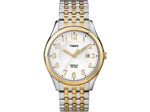Timex Two-Tone Expansion Analog White Dial Men's Watch T2P202