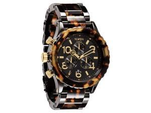 Nixon Quartz Chronograph Tortoise Brown Dial Women's Watch A037-679