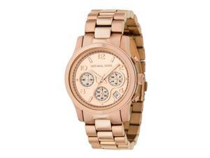 Michael Kors Rose Gold-tone Chronograph Watch MK5128