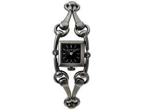 Gucci Signoria Quartz Black Stainless Steel Band Black Dial Women's Watch - YA116515