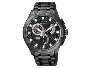 Citizen Quartz Eco Drive Calibre 8700 Black Dial Men's Watch CZ BL8097-52E