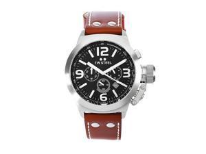T.W. Steel Canteen Black Dial Chronograph Men's Watch - TWS TW6
