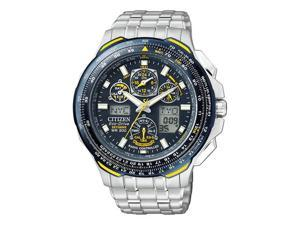 Citizen Blue Angels Skyhawk A-T Eco Drive Mens Watch JY0040-59L