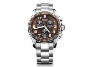 Victorinox Swiss Army Chronograph Classic Black Ceramic Men's Watch - V241544