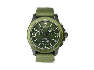 Victorinox Swiss Army Original Chronograph Green Nylon Men's Watch - V241531