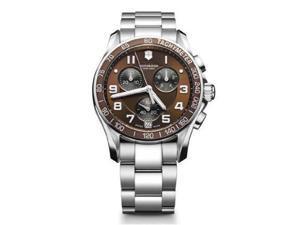 Victorinox Swiss Army Chronograph Classic Brown Dial Men's Watch - V249036