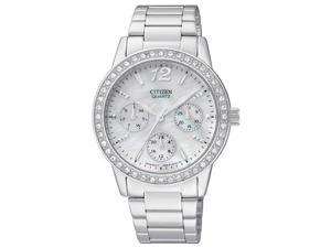 Citizen Quartz Stainless Steel Bracelet Women's Watch - ED8090-53D