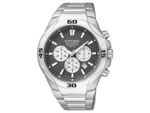 Citizen Quartz Chronograph Sport Gray Dial Men's Watch - AN8020-51H