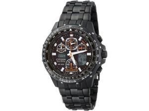 Citizen Quartz Eco Drive Skyhawk A-T Black Dial Men's Watch CZ JY0005-50E