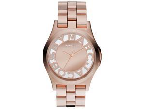 Marc by Marc Jacobs Henry Skeleton Pink Dial Quartz Women's Watch -  MBM3207