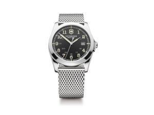 Victorinox Swiss Army Infantry Black Dial Quartz Men's Watch - 241585