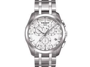 Tissot Couturier Quartz Silver Dial Men's Watch - T035.617.11.031.00