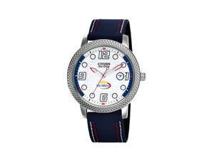 Citizen Eco-Drive Japanese Quartz White Dial Unisex Watch - BM7211-00A