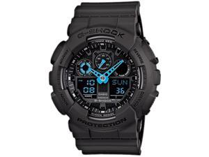 Casio POV Quartz Black Dial Mens Watch -  #GA100C-8A
