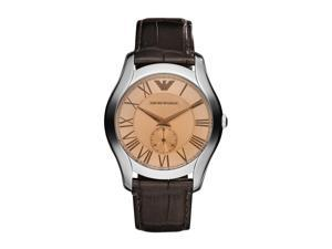 Armani Valente Quartz Brown Dial Men's Analog Watch #AR1704