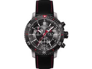 Tissot PRS 200 Swiss Automatic Black Dial Men's Analog Watch #T067.417.26.051.00